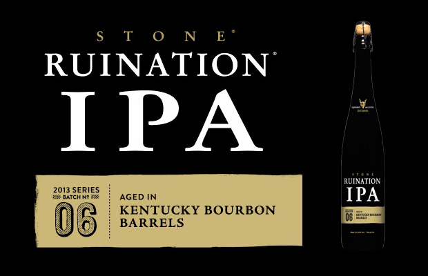 2013 Stone Quingenti Millilitre Series – Stone Ruination IPA 2011 Vintage aged in Bourbon Barrels