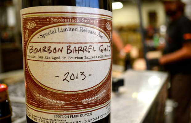Boulevard Brewing begins bottling 2013 Bourbon Barrel Quad