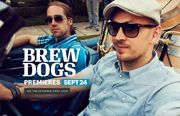 A sneak peek at Brew Dog's new TV Show