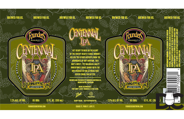 Founders Brewing – Centennial IPA 12 pack cans coming