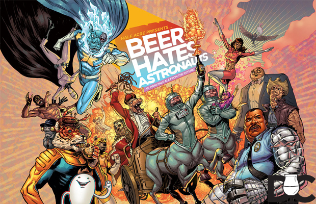 Half Acre Beer – Beer Hates Astronauts IPA coming Aug 30th