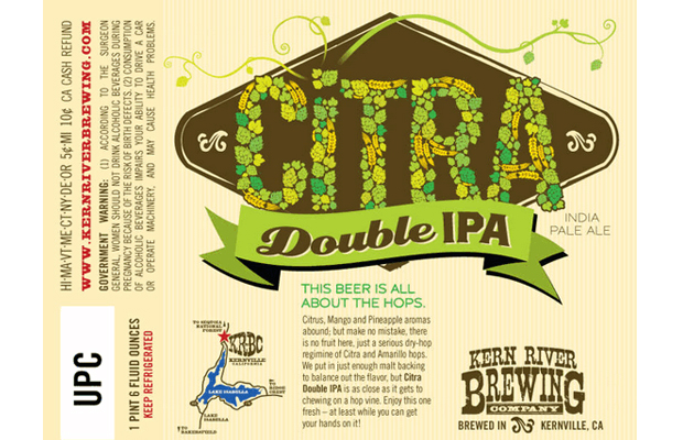 Kern River Brewing CITRA Lottery Details