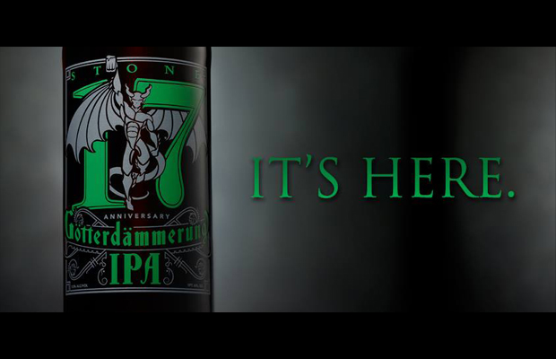 Press Release: Stone 17th Anniversary Götterdämmerung IPA Released Today