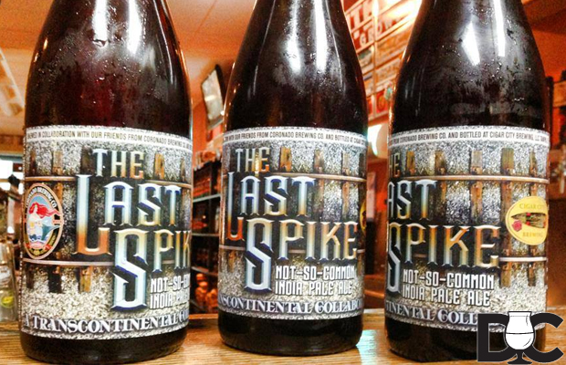 Coronado – Cigar City Last Spike IPA collaboration hitting So Cal shelves