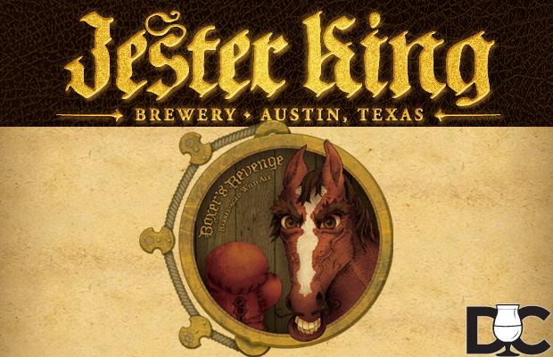 Jester King Boxer's Revenge Barrel-Aged Wild Ale on sale Septh 27th