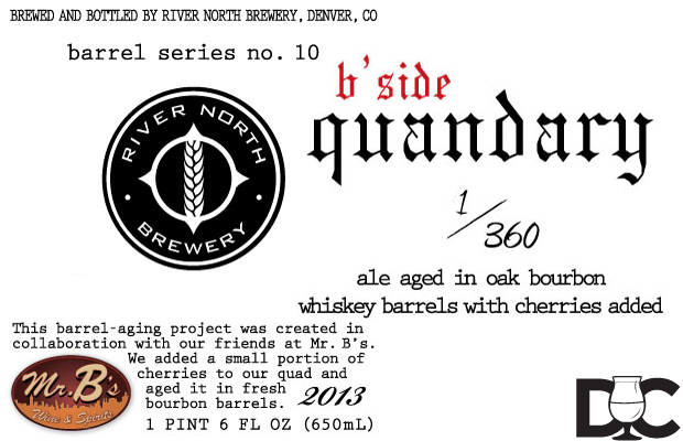 "River North Brewing Introduces the ""B-Side"" Barrel-Aging Collaboration Project"