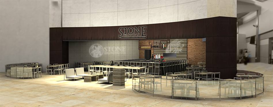 Stone Brewing World Bistro & Gardens opens at San Diego International Airport (video)