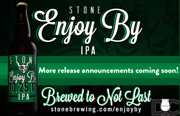 Stone Brewing Co – Enjoy By 10.25.13 IPA Market List