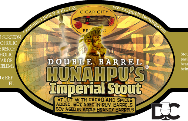 Cigar City Brewing Double Barrel Hunahpu's Imperial Stout