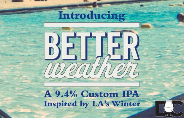 Golden Road Brewing – Better Weather IPA release Oct 27th