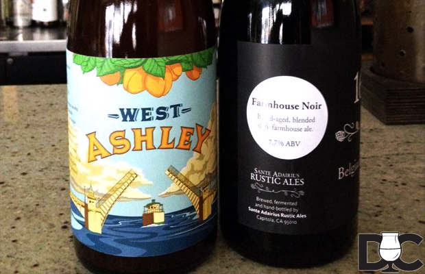 Sante Adairius West Ashley & Farmhouse Noir bottles available today