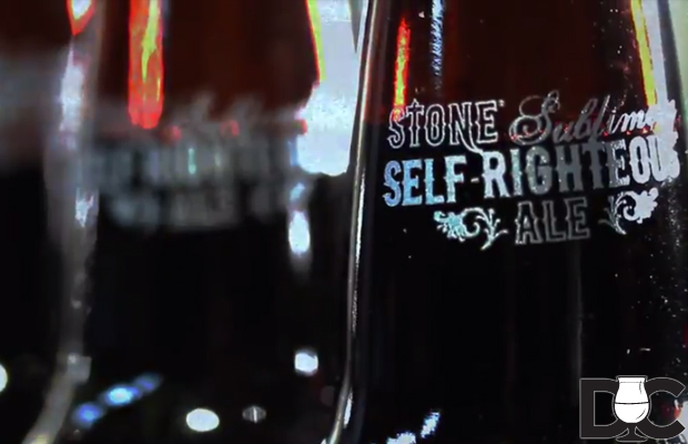 Stone Brewing Co Sublimely Self-Righteous Black IPA (Video)