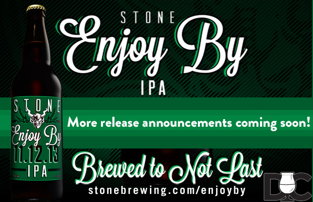 Stone Brewing Co – Enjoy By 11.12.13 IPA Market List