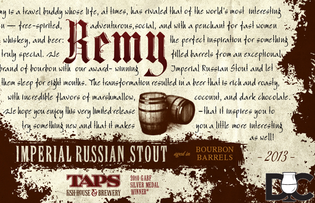 Taps Fish House & Brewery – Remy now on sale