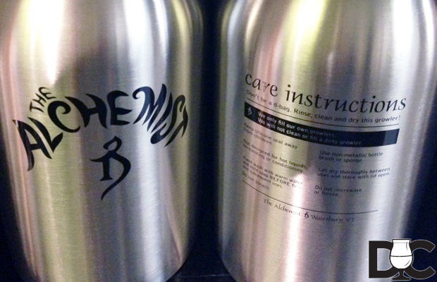 The Alchemist starts filling growlers