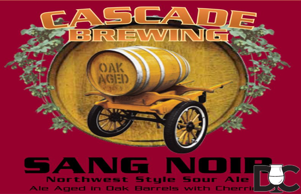 Cascade Brewing 2012 Sang Noir On Sale Today Nov 27th