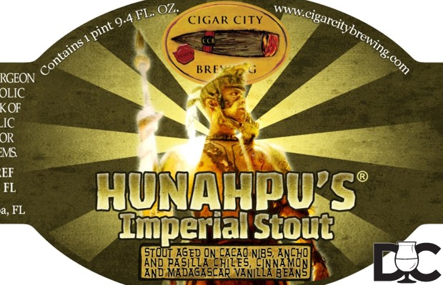 Cigar City Brewing 2014 Hunahpu's Day Details