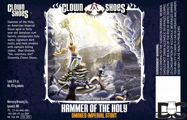 Clown Shoes Hammer of the Holy landing on shelves this week