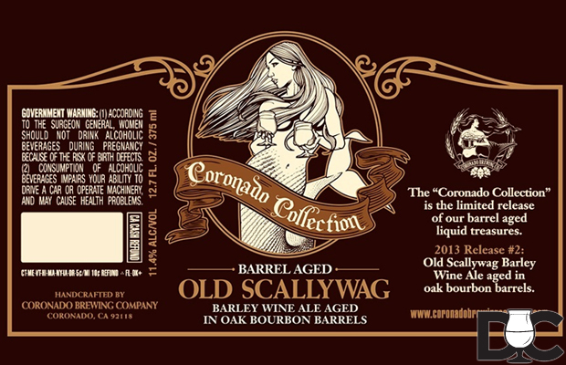 Coronado Brewing Barrel Aged Old Scallywag Barleywine