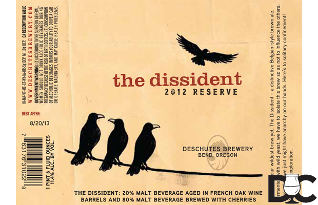 Deschutes The Dissident will be released yearly starting in 2014