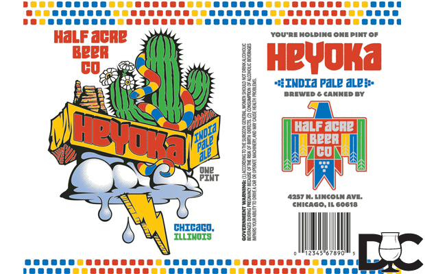 Half Acre Heyoka is HA's first IPA to see regular distribution