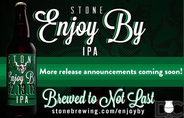 Stone Brewing Enjoy By 12.13.13 IPA Market List
