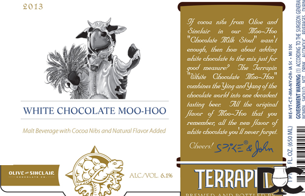 Terrapin Beer Co White Chocolate Moo-Hoo first in new Reserve Series
