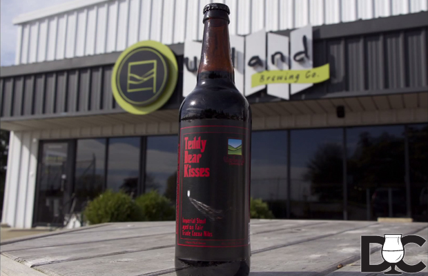 Upland Brewing Teddy Bear Kisses Russian Imperial Stout (Video)