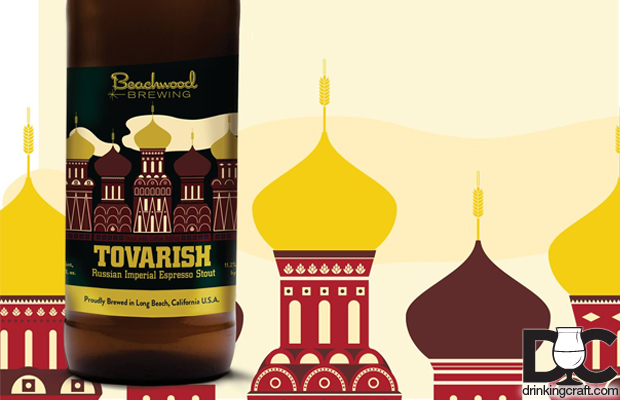 Beachwood Brewing Tovarish Espresso RIS Bottle Release Dec 27th