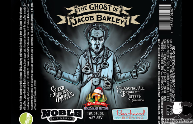 Beachwood & Noble The Ghost of Jacob Barely Collab