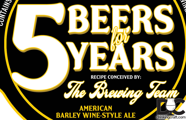 Cigar City 5 Beers For 5 Years Anniversary Series