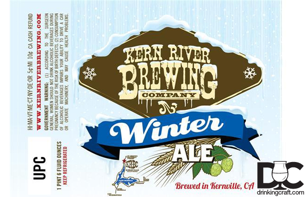 Kern River Brewing Winter Ale Now Available