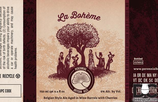 Perennial Artisan Ales La Boheme Release Dec 21st