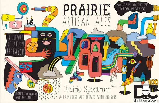 Prairie Artisan Ales Prairie Spectrum Brewed For Ales of Autism