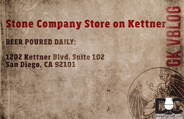 Stone Brewing Co New Kettner Location Opening (Video)