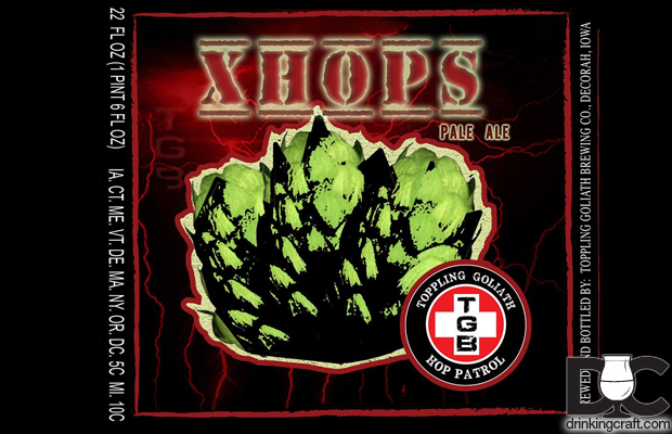 Toppling Goliath XHOPS Bottles Now Available