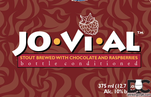 Troegs Brewing Jovial Chocolate Raspberry Imperial Stout