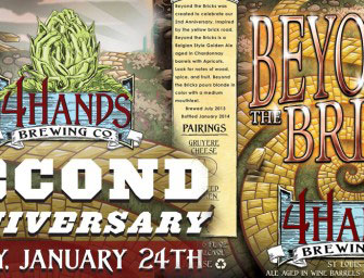 4 Hands Brewing Beyond The Bricks Release Jan 24th