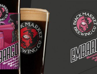 Black Market Brewing Barrel Aged Embargo Coming In March