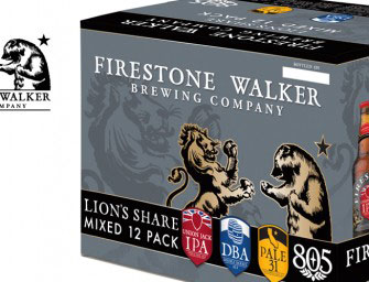 Firestone Walker Releasing Lion's Share 12 pack & Bear's Necessities 24 pack