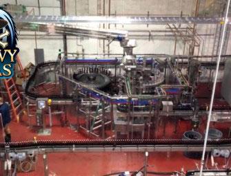 Heavy Seas Bottling Line Install Time Lapse