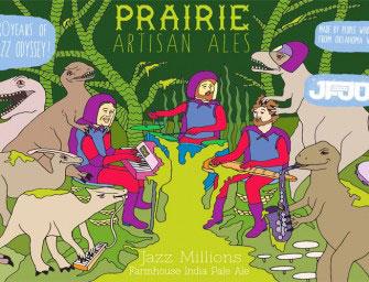 Prairie Artisan Ales Jazz Millions Farmhouse IPA