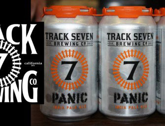 Track 7 Brewing Panic IPA Cans Now Available