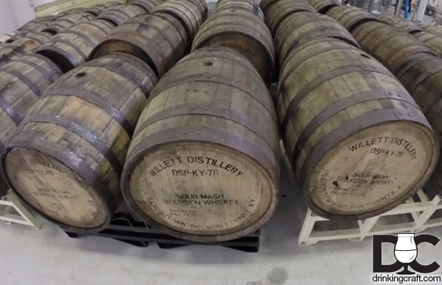 Upland Brewing Bourbon Barrel Winter Warmer (Video)