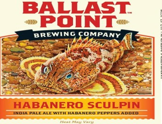 Ballast Point Habanero Sculpin Bottles Coming To San Diego
