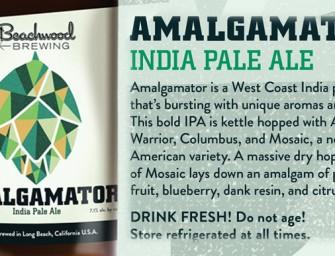 Beachwood Brewing Amalgamator IPA Bottle Release Today