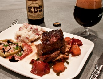 Founders Breakfast Stout Braised Short Ribs
