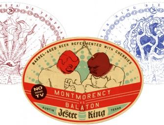 Jester King Cerveza de Tempranillo, Biere de Merlot, & Montmorency vs Balaton