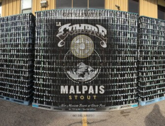 Back in Black: La Cumbre's Malpais Stout now available in cans
