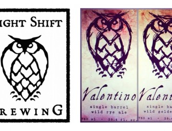 Night Shift Brewing Valentino & Valentina Release Details